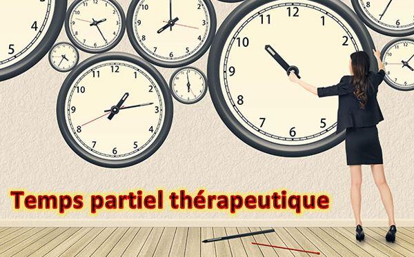 Fonction Publique Nouveau Temps Partiel Therapeutique Et Creation